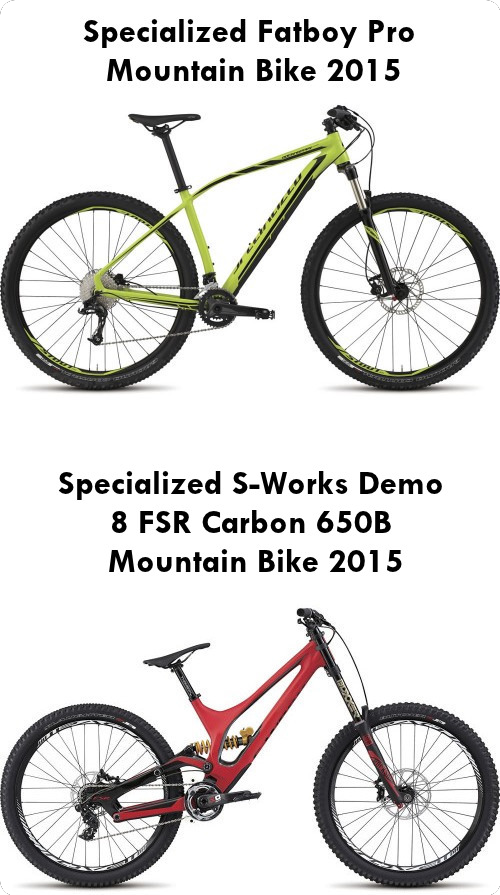 2015 Collection: Specialized Mountain Bikes for Sale UK