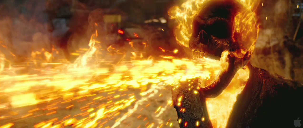world�s darkest hero rides again in �ghost rider� sequel