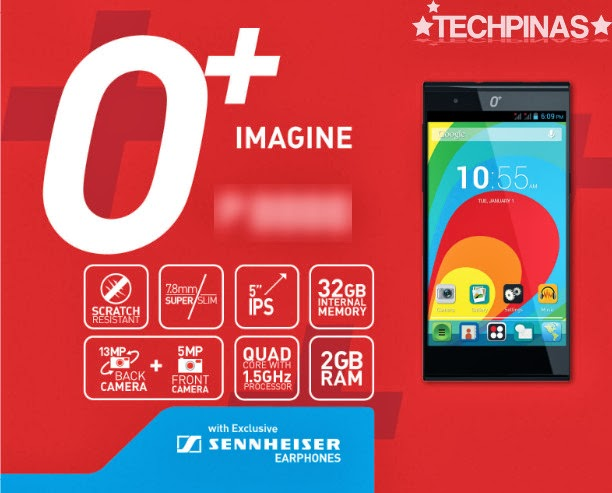O+ Imagine, O+ Android Smartphone