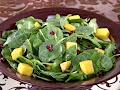Recetas light: Ensalada de espinacas