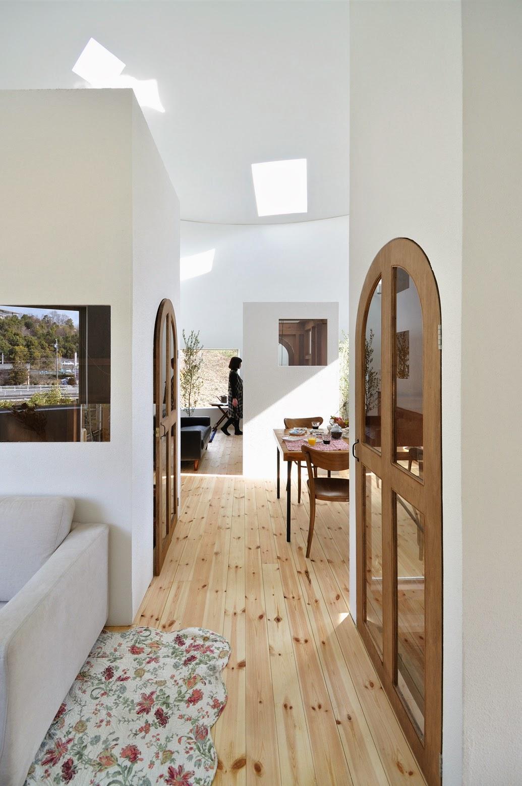 Lantai 2 Rumah Bulat