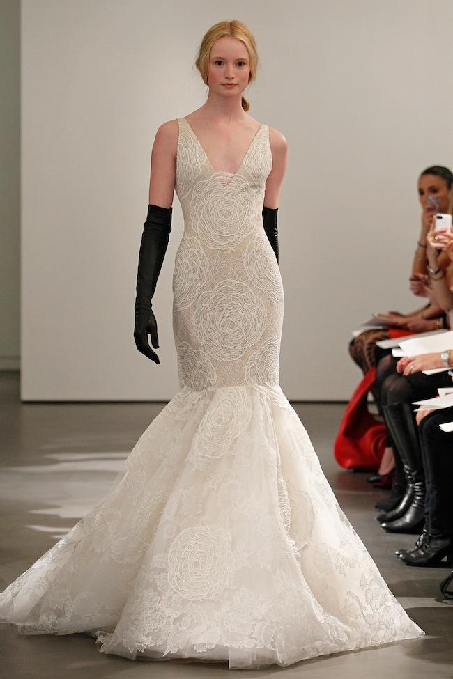 Leather Up: Vera Wang Spring Bridal 2014 | The Bridal Collective Blog