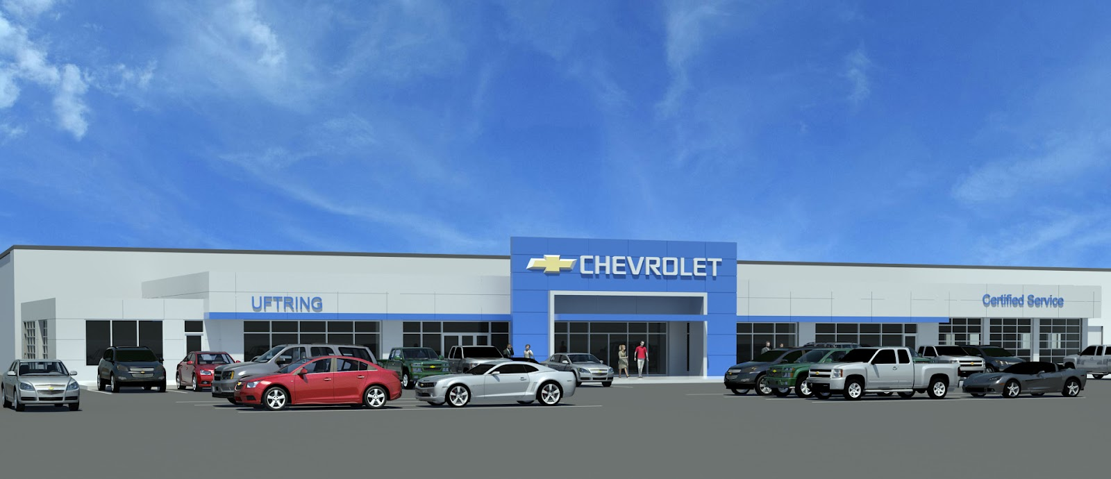 P.J. Hoerr, Inc.: Uftring Chevrolet - Washington, IL