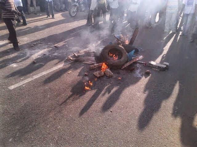 Nigeria: Yatwitswe ari muzima arashya kugeza abaye umuyonga