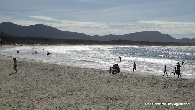 Praia da Barra da Lagoa - Floripa