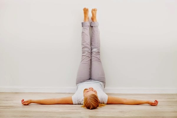 The Amazing Health Benefits Of Legs Up The Wall Pose (Viparita Karani)