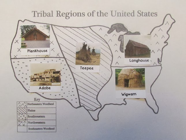 5th grade social studies on pinterest native american for Different types of houses in usa