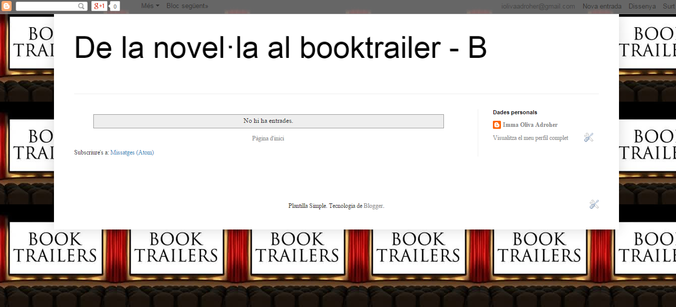 BLOG DE LA NOVEL·LA AL BOOKTRAILER_B curs 15-16