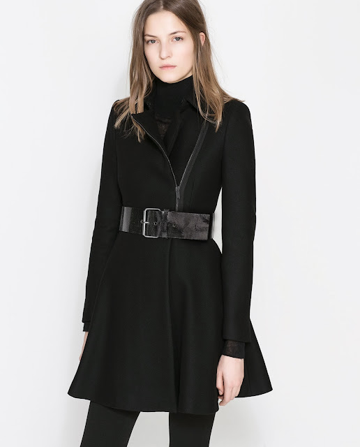 peplum coat