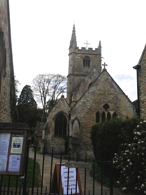 medieval church in castle combe