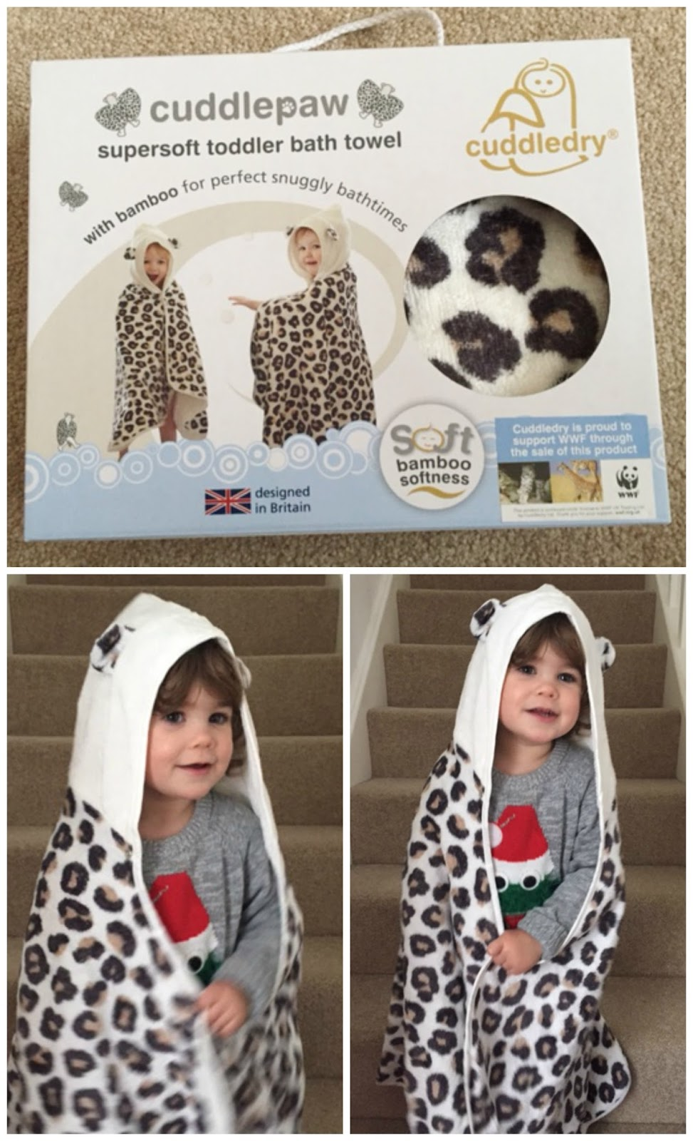 Cuddlepaw Toddler Dress Up Towel Review The German Wife