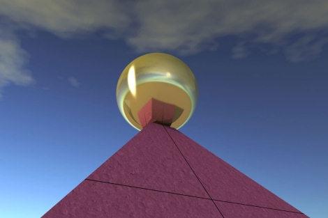 La Pirámide de Keops Estaba Coronada por una Esfera de Más de 2 Metros