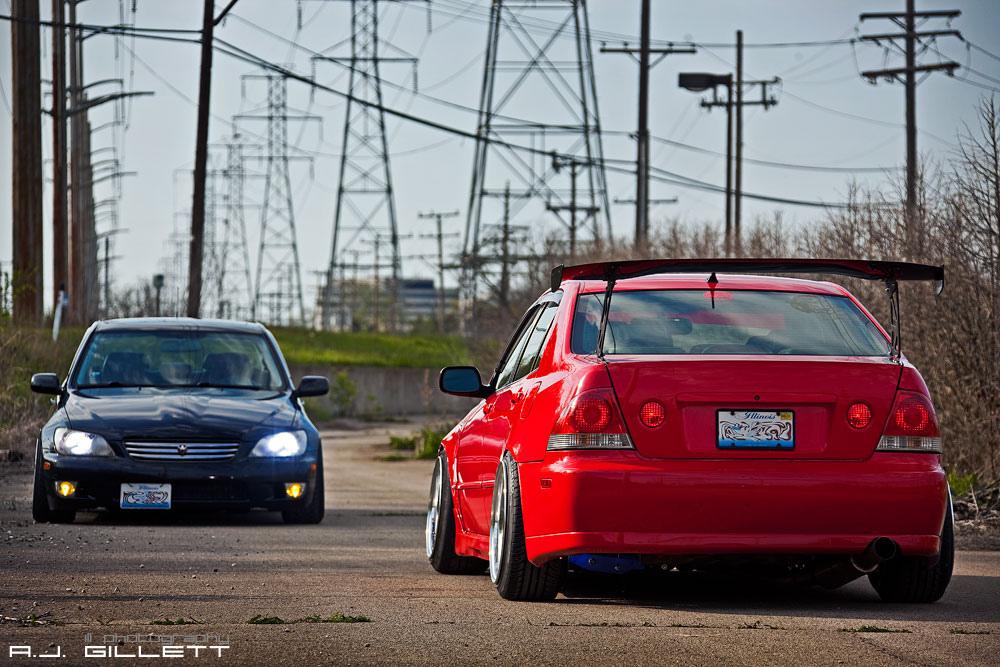 Lexus IS XE10, japońskie samochody, duży spojler, tuning, zdjęcia