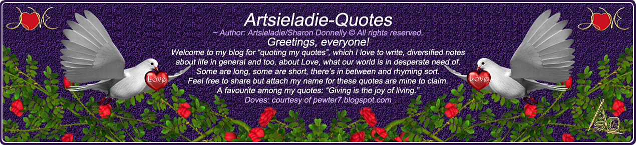 Artsieladie-Quotes
