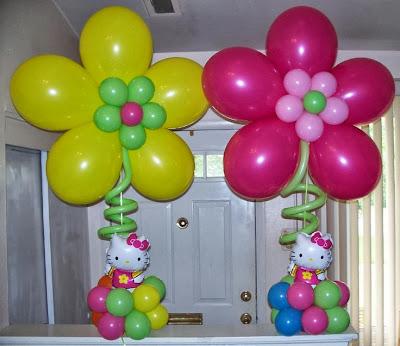 C mo hacer flores con globos decoraci n con globos - Hacer munecos con globos ...