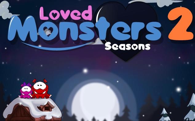 Loved Monsters 2 Seasons nice Puzzle online Games free