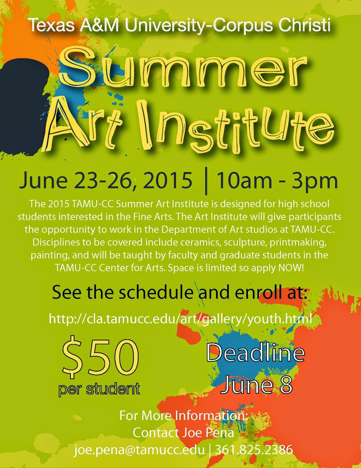 Corpus christi area summer camps 2015 corpus christi fun for kids summer sports and wellness program at tamu cc from nueces county inland parks xflitez Gallery