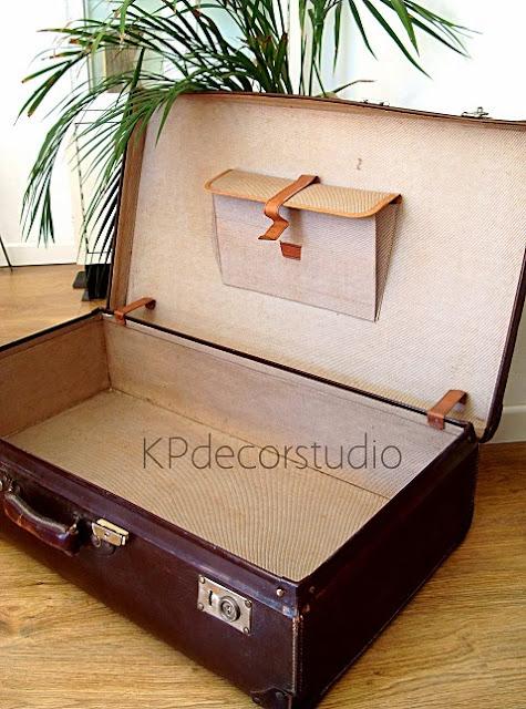 Tienda online de decoración, venta de objetos vintage. Maletas antiguas de viaje