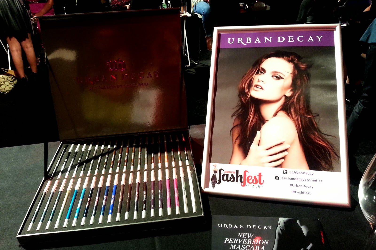 Urban Decay at Cosmopolitan to Catwalk FashFest 2014