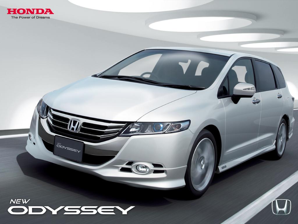 magazine minivan news rear angular honda odyssey driven automobile ex