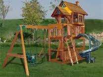 Backyard Play Structures for Children