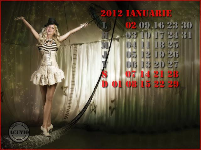 Sexiest calendar funny Elena Udrea Echilibru