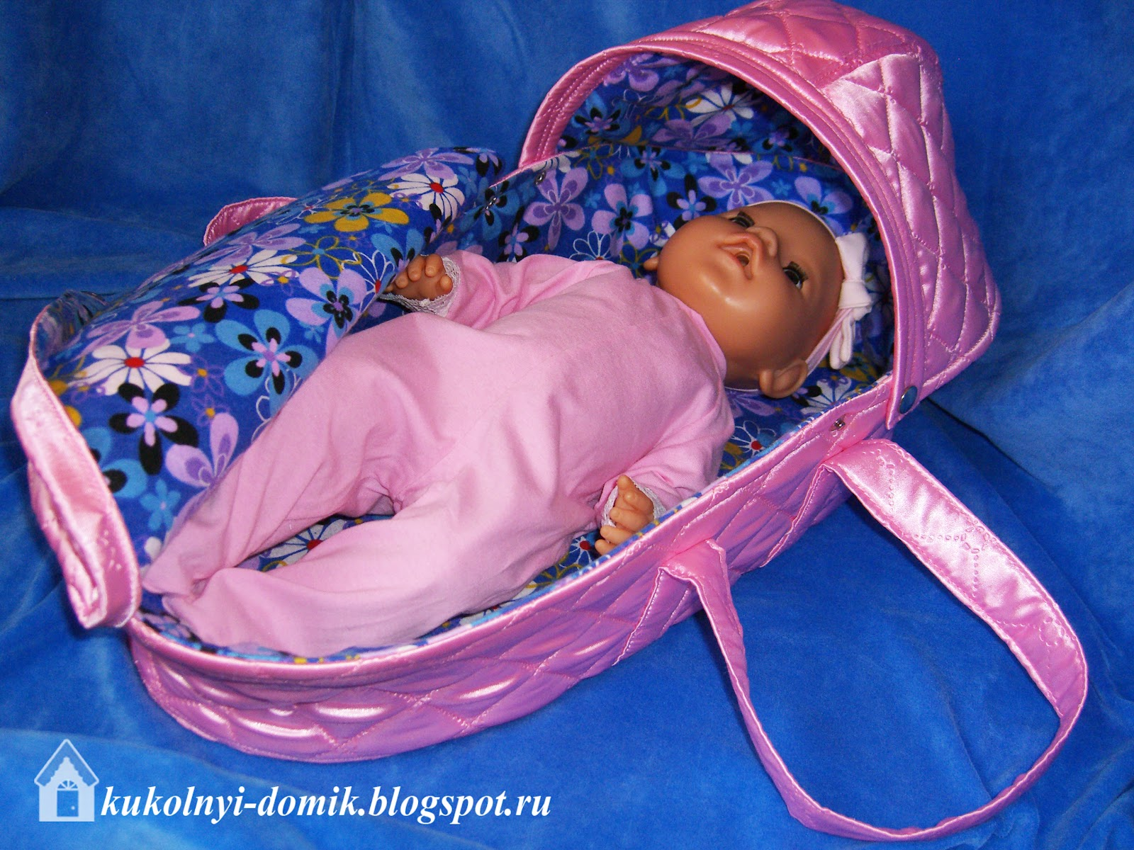 Сумка-переноска для куклы своими руками выкройка