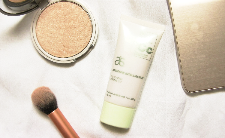 mary lou-manizer arbonne intelligence cc cream beauty blog review