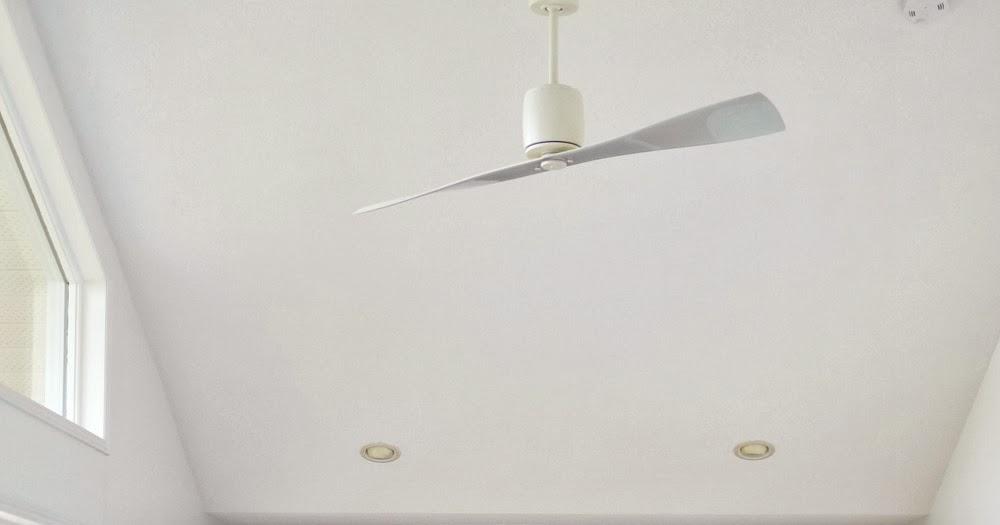 modern white ceiling fan. modern white ceiling fan