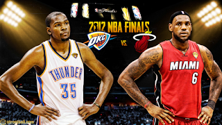 Oklahoma City Thunder vs Miami Heat NBA Finals 2012