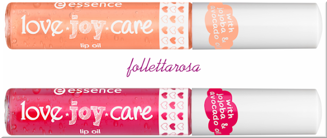 lipgloss essence love joy care