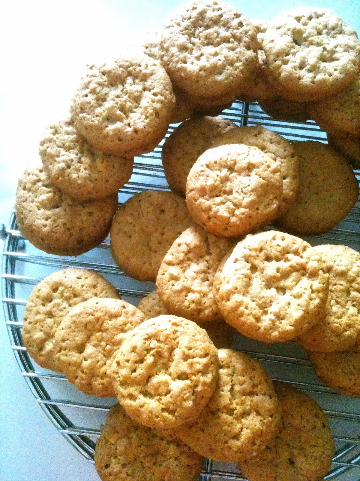 "Dough and Batter: bouchon bakery's ""nutter butter"" cookies"