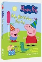 Enter to win the Peppa Pig: My Birthday Party DVD and plush toy. Ends 3/18.