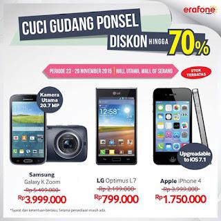 Erafone Cuci Gudang Samsung Galaxy K Zoom Hanya Rp 3.999.000