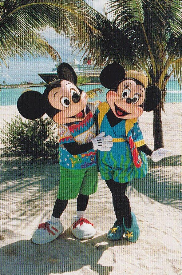 Postcard A La Carte Bahamas Castaway Cay Disney At