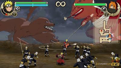 Download Game Naruto Shippuden: Ultimate Ninja Impact PSP