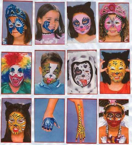 Maquiagem infantil para festa de aniversário infantil