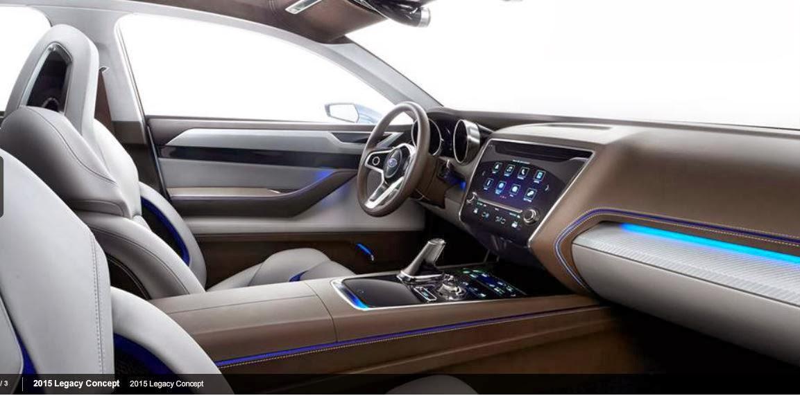 2015 Subaru Legacy Concept Interior