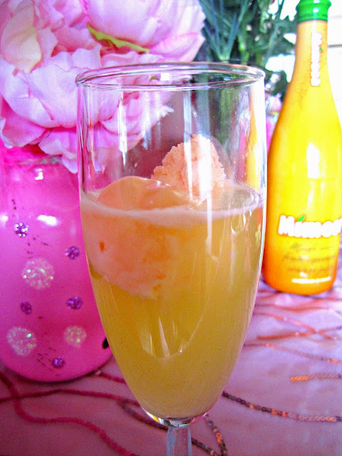 Mother's Day Brunch mimosas