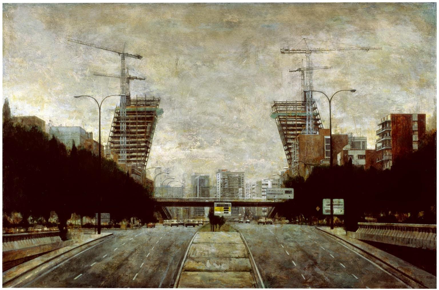 Caminando por madrid las torres inclinadas 2 - Torres kio arquitecto ...
