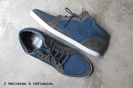 Sneakers Piola toile bleu