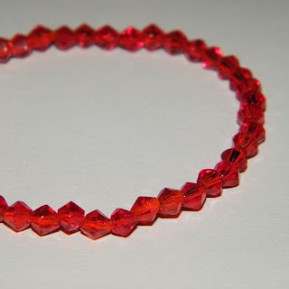Bratara elastica rosie