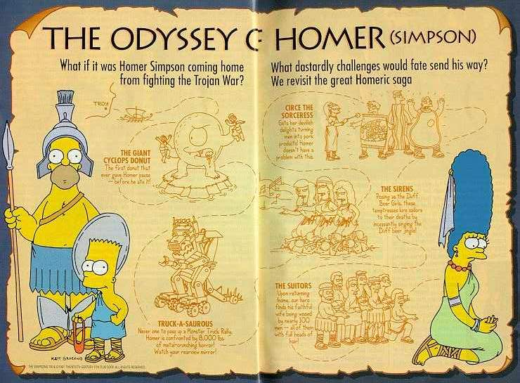a report on the odyssey by homer Kids learn about homer's iliad from ancient greece an epic poem about the trojan war and the hero achilles.