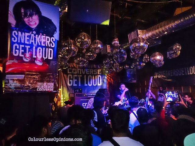 Converse Get Loud Finale Malaysia 2013 @ Laundry Bar Curve