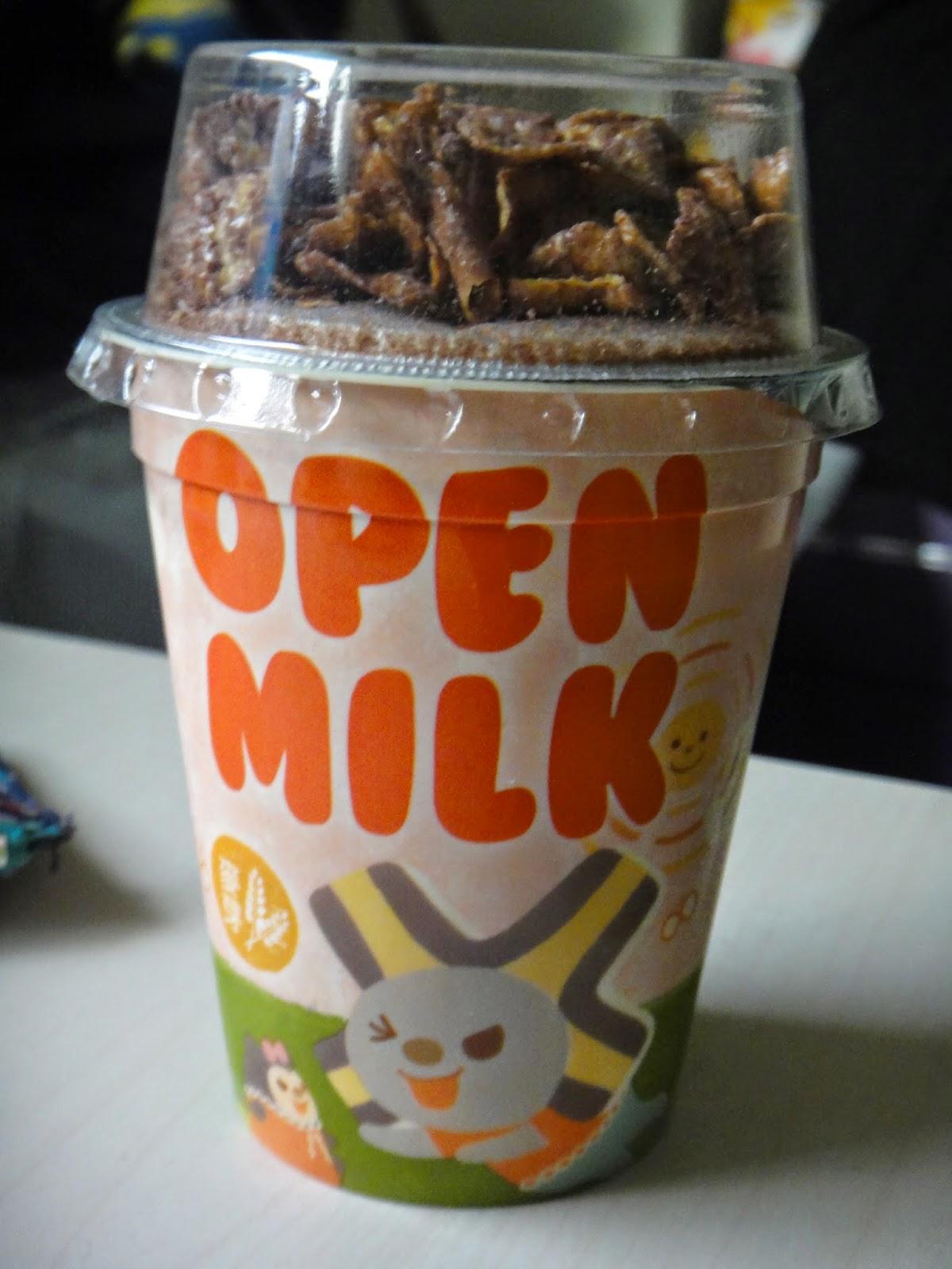 Taiwan Open Milk Instant Cereal 7-11