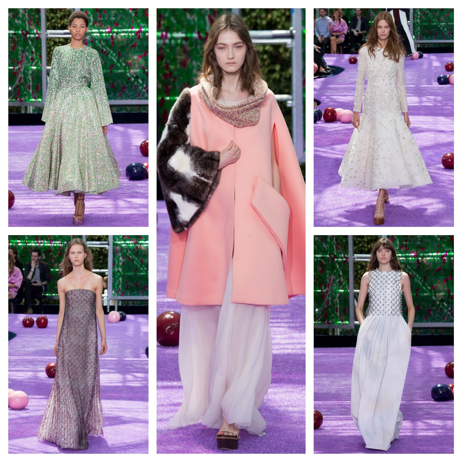 Looks - Dior christian haute couture fall runway video
