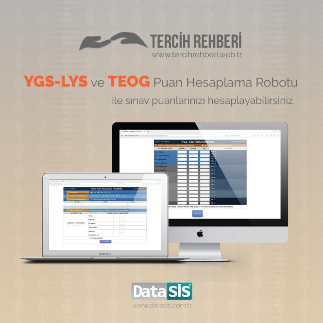 YGS-LYS ve TEOG Puan Hesaplama Robotu