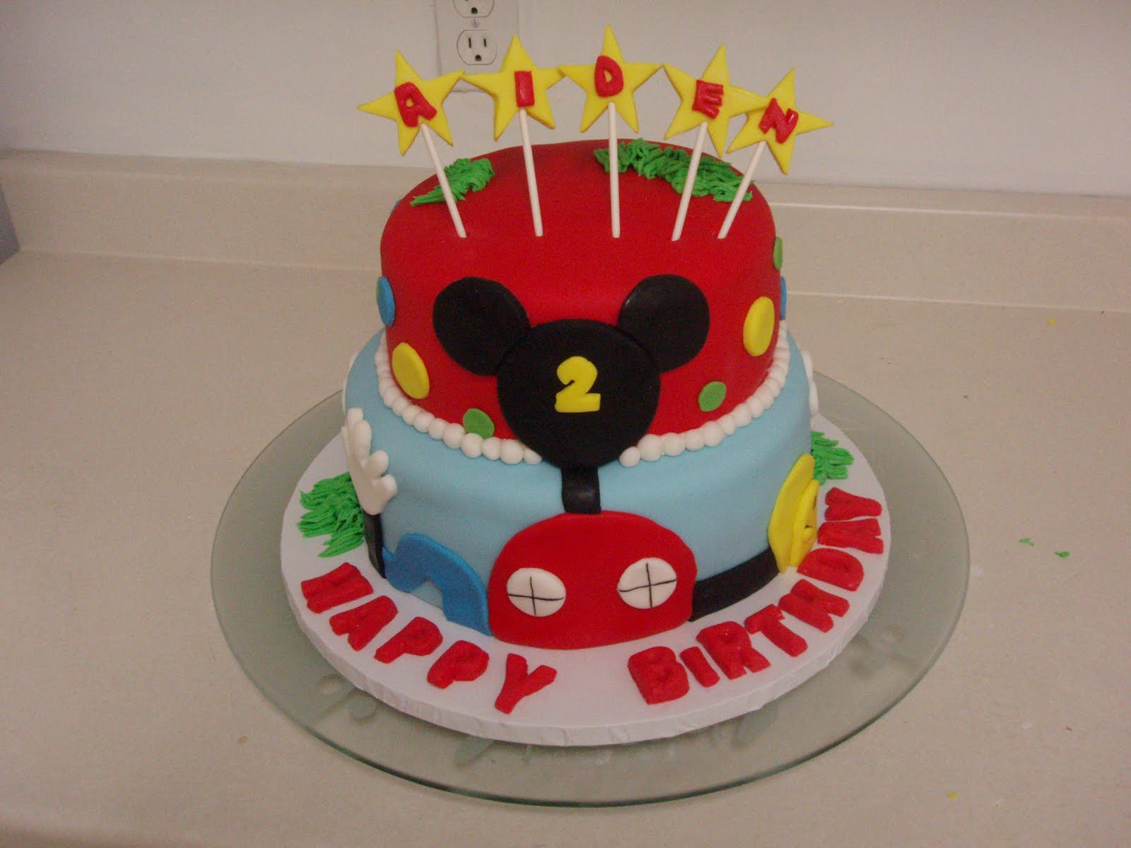 SugarBakers Cake Design Mickey Mouse Club cake