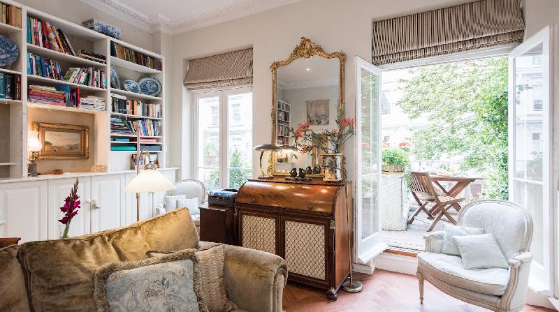Dormire nelle case pi belle di londra victorian garden la gatta sul tetto - Case belle interni ...