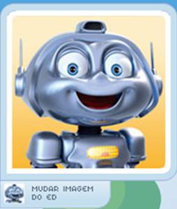 Converse com o robô ED